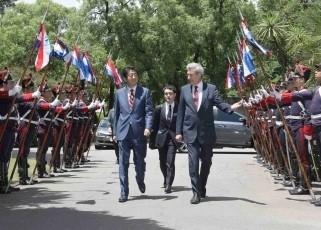 安倍総理のウルグアイ訪問 | 在ウルグアイ日本国大使館